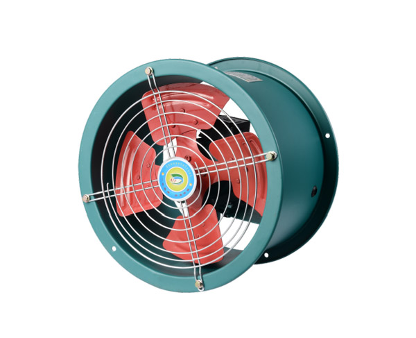 SF型低噪声轴流通风机(管道式)