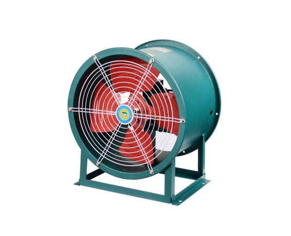 SF型低噪声轴流通风机(固定式)