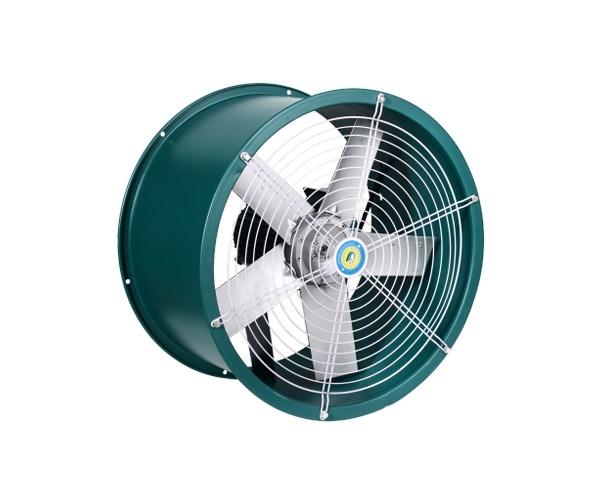 SF型低噪声轴流通风机(铝业管道式)
